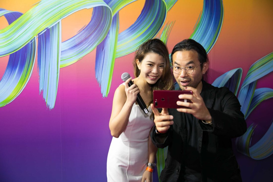 Juliana & Stefen Chow at the OPPO R15 Product Launch